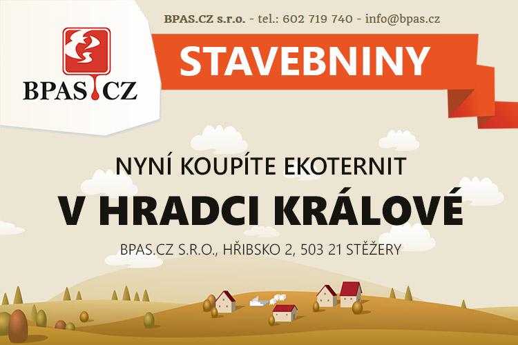 Nový distributor střešní krytiny EKOternit v Hradci Králové